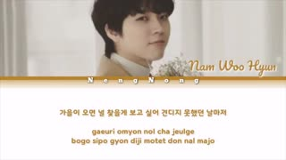 متن آهنگ When Fall Comes از NAM WOO HYUN عضو INFINITE