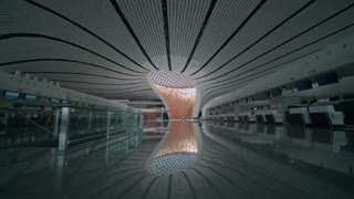Starfish airport in Beijing