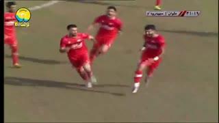 خلاصه بازی ملوان 2 - 1 سپیدرود