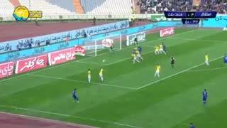 خلاصه بازی استقلال 5 - صنعت نفت آبادان 0 (لیگ برتر ایران)