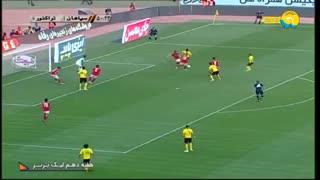 خلاصه بازی سپاهان 2 - تراکتور 0 (لیگ برتر ایران)