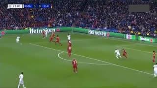 خلاصه بازی جذاب و پر گل رئال مادرید 6 -  گالاتاسرای 1(لیگ قهرمانان اروپا)