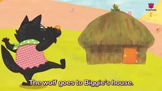 The Three Little Pigs | Fairy Tales | Musical