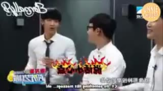 chanyeol scared of D.o. & funny moment