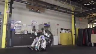 انعطاف پذیری ربات ژیمناستیک کار