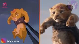 لایو اکشن شیر شاه در کنار انیمیشن شیر شاه