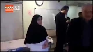 بازدید سرزده وزیر بهداشت از بیمارستان شهدای پاکدشت