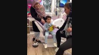دندانپزشک کودکان بدون بیهوشی
