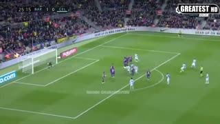 خلاصه بازی بارسلونا 4 - سلتاویگو 1 (لالیگا اسپانیا)