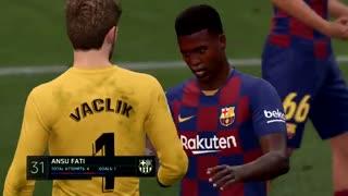 یک فصل Career Mode FIFA 20 قسمت پانزدهم بارسلونا به زبان فارسی