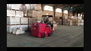 سوییپر صنعتی - نظافت سریع و آسان انبار