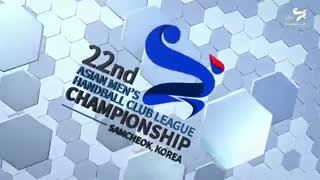 دیدار تیم های هندبال بربر و العربی در قهرمانی باشگاه های آسیا2019