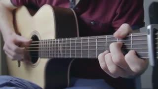 Charlie Puth - One Call Away -  اموزش گیتار