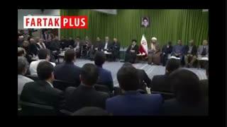 شعرخوانی در حضور رهبر انقلاب درباره وحدت مسلمین