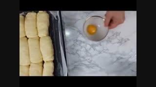 نان شیری | فیلم آشپزی