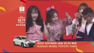 حضور جی فرند دربرنامه shopee tv show اندونزی پارت2