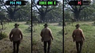 مقایسه گرافیکی Red Dead Redemption 2 در کنسول و کامپیوتر