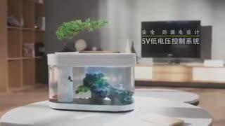 آکواریم ماهی شیائومی بدون نیاز به تعویض آب!