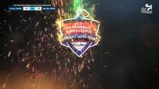 دیدار تیم های هندبال عمان و بربر در قهرمانی باشگاه های آسیا2019