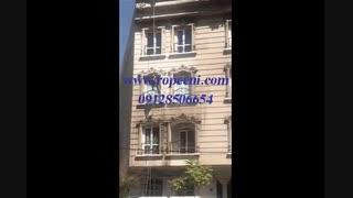 شستشوی نمای ساختمان در تهران بدون داربست