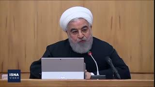 روحانی: باید در برابر مردم متواضع و در برابر مزدوران، قاطع باشیم