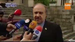 نظر وزیر ورزش درباره باخت های اخیر تیم ملی فوتبال