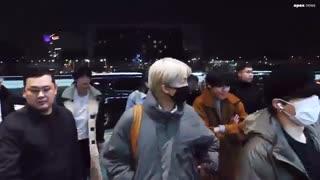 BTS departure to Japan 2019. 11. 21