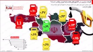 بنزین مفت مایه بدبختی مردم ایران است