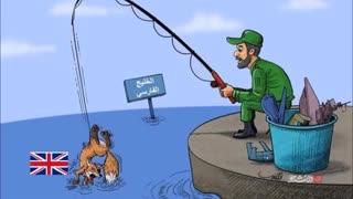 سیلی  محکم  و حیدری  ایران  به غربی های منحوس