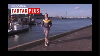 جمع آوری زبالههای دریا با پهپادهای آبی هوشمند