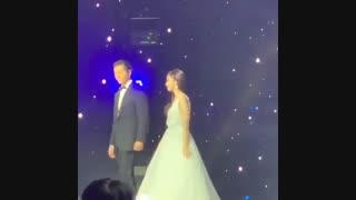 حضور پارک مین یانگ و کیم جائه ووک در مراسم starhub night stars 2019