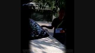رفع کوبش و لرزش هیوندا ی اکسنت با ضربه گیر برسام