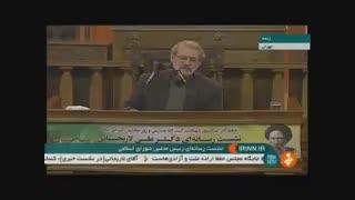 لاریجانی: نظارت بر بازار پس از افزایش قیمت بنزین امری مستمر است