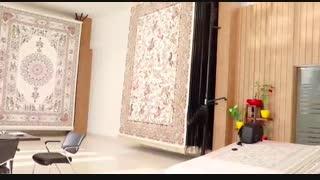 خرید حضوری فرش ماشینی کاشان همراه با خرید اینترنتی
