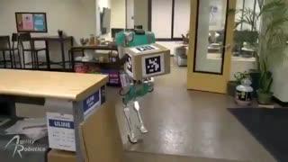 معرفی روبات جایگزین نیروی انسانی برای حمل مرسولات