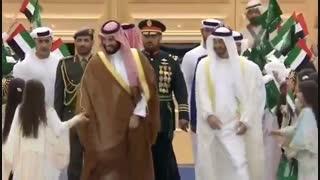 حاکم دبی هنگام بازدید متوجه دست دخترک نمیشود و ادامه ماجرا