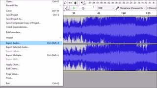 How to add music to MMD (and convert to WAV)