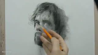 پرتره. طراحی با مداد. Tyrion Lannister - تظاهرات طراحی مداد