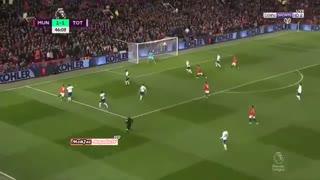 خلاصه بازی منچستریونایتد 2 - تاتنهام 1 ( لیگ برتر انگلیس )