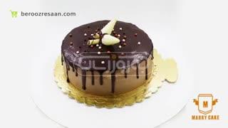 کیک نسکافه با روکش شکلات ماری کیک-به روز رسان
