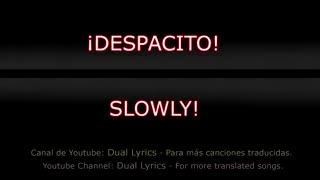 Despacito - English and Spanish Lyrics translated subtitles