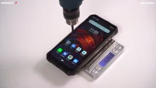 تست و شکنجه صفحه نمایش گوشی Ulefone Armor 7