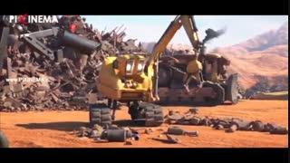 انیمیشن کوتاه مکانیکی (ماشینی) ، Mechanical Short Animation