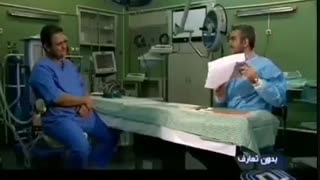 دکتری در لباس  خادمی