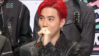 Interview with EXO [Music Core] 20191207