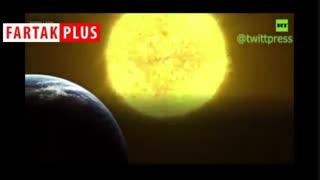 خورشید در حال مرگ زمین را خواهد خورد
