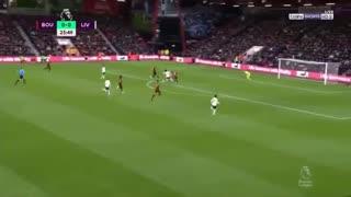 خلاصه بازی بورنموث 1 - لیورپول 2 (لیگ برتر انگلیس)