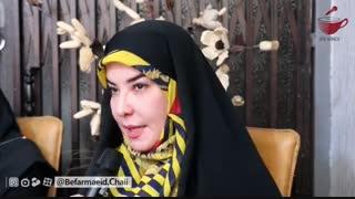 قسمت پنجم گفت وگو با عباس پور فرخی به سبک بفرمایید چای-محسن رضوی