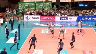 Indykpol AZS Olsztyn - MKS Będzin 2: 3. Game highlights