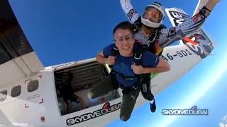 اسکای دایو با پرش از ارتفای ١٣ هزار پایی | دکتر قریشی
